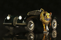 The Jaguar can come in two forms. In this memorable, beautiful piece, we see a classic example of the iconic Jaguar vehicle. Near to the car, as though it is leaping out right at you, is the animal jaguar. Both are capable of expressing the same thoughts. Both are examples of power, beauty, and grace. These are qualities that when expressed in a certain way, are capable of taking on a quality that can only be described as timeless. This is a powerful image that can look perfect in a wide assortment of spaces. Available as t-shirts, wall art, or interior home décor products. .<br /> <br /> BUY THIS PRINT AT<br /> <br /> FINE ART AMERICA<br /> ENGLISH<br /> https://janke.pixels.com/featured/jaguar-mk-3-jan-keteleer.html<br /> <br /> <br /> WADM / OH MY PRINTS<br /> DUTCH / FRENCH / GERMAN<br /> https://www.werkaandemuur.nl/nl/shopwerk/Klassieke-auto---Oldtimer-Jaguar-MK-III/435918/134