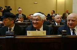 BRUSSELS, BELGIUM - JAN-30-2005 -  Tom C. Korologos , U.S. Ambassador to Belgium. attends a memorial service at the Grand Synagogue in Brussels in remembrance of the liberation of the notorious Nazi concentration camp at Auschwitz. (Photo © Jock)