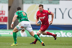 Scarlets' David Bulbring in action - Mandatory by-line: Craig Thomas/JMP - 09/12/2017 - RUGBY - Parc y Scarlets - Llanelli, Wales - Scarlets v Benetton Rugby - European Rugby Champions Cup