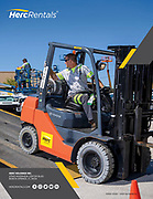 Annual Report Photography for HercRentals