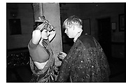 Georgia Metcalfe, ( now Georgia Coleridge) and Boris Johnson, sultans Ball, Oxford Town Hall, 10 March 1986. SUPPLIED FOR ONE-TIME USE ONLY> DO NOT ARCHIVE. © Copyright Photograph by Dafydd Jones 66 Stockwell Park Rd. London SW9 0DA Tel 020 7733 0108 www.dafjones.com