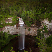 Fall Creek Falls during sunset at the state park near Spencer, Tennessee. Nathan Lambrecht/Journal Communications
