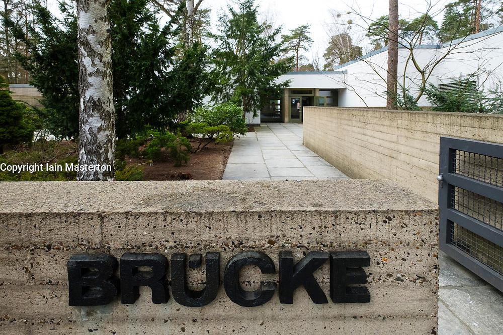 Brücke Museum in Dahlem , Berlin, Germany