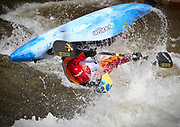June 5, 2009-Vail, CO, USA-Kayak best trick competition during day three of the Teva Mountain Games in Vail Village. (Credit Image: Bret Hartman/Zuma Press)