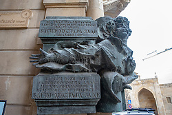 Russian Plaques With Bust Of Famous Person