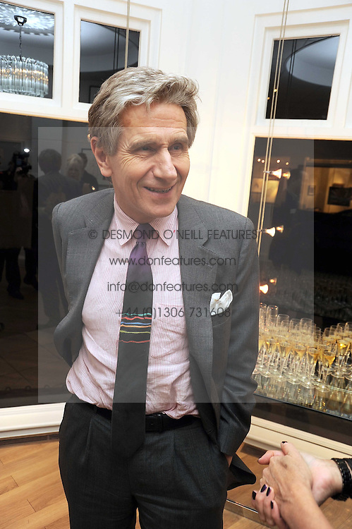 LORD STEVENSON OF CODDENHAM at a private view of 'Most Wanted' an exhibition of photographs held at The Little Black Gallery, Park Walk, London on 27th November 2008.