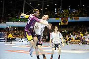 DESCRIZIONE : HandbaLL Cup Finale EHF Homme<br /> GIOCATORE : Dole Frederic<br /> SQUADRA : Nantes <br /> EVENTO : Coupe EHF Demi Finale<br /> GARA : NANTES HOLSTEBRO<br /> DATA : 18 05 2013<br /> CATEGORIA : Handball Homme<br /> SPORT : Handball<br /> AUTORE : JF Molliere <br /> Galleria : France Hand 2012-2013 Action<br /> Fotonotizia : HandbaLL Cup Finale EHF Homme<br /> Predefinita :