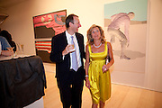 WILLIAM STANCER; ROSIE STANCER, Korean Eye Dinner  hosted by The Dowager Viscountess Rothermere and Simon De Pury.Sponsored by CJ, Korean Food Globalization Team, Hino Consulting and Visit Korea Committee. Phillips de Pury Space, Saatchi Gallery.  Sloane Sq. London. 2 July 2009.