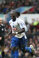 Photo: Mark Stephenson/Sportsbeat Images.<br /> Aston Villa v Portsmouth. The FA Barclays Premiership. 08/12/2007.Portsmouth's Sulley Ali Muntari celebrates his 2ed goal