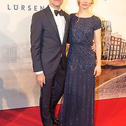 NLD/Amsterdam/20151130 - Film Premiere Publieke Werken, Joram Lursen en partner