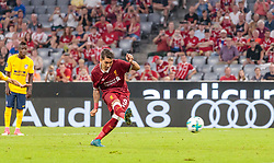 02.08.2017, Allianz Arena, Muenchen, GER, Audi Cup, FC Liverpool vs Atletico Madrid, Finale, im Bild 1:1 Tor, Roberto Firmino (FC Liverpool) // during the Audi Cup Final Match between FC Liverpool and Atletico Madrid at the Allianz Arena, Munich, Germany on 2017/08/02. EXPA Pictures © 2017, PhotoCredit: EXPA/ JFK