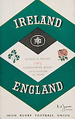 Rugby 1963 - 09/02 Five Nations Ireland Vs England