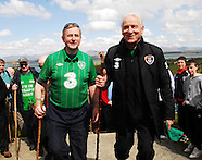 Enda's Trek with Trapp's Green Army