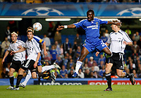 Photo: Richard Lane/Sportsbeat Images.<br />Chelsea v Rosenborg. UEFA Champions League Group B. 18/09/2007. <br />Chelsea's Shaun Wright-Phillips shoots.