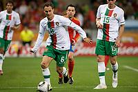 Fotball<br /> VM 2010<br /> Portugal v Spania<br /> 29.06.2010<br /> Foto: Dppi/Digitalsport<br /> NORWAY ONLY<br /> <br /> FOOTBALL - FIFA WORLD CUP 2010 - 1/8 FINAL - SPAIN v PORTUGAL - 29/06/2010<br /> <br /> RICARDO CARVALHO (POR)