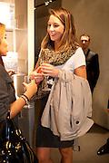 CLAIRE-LOUISE BRADLEY, Vogue: Fashion's Night Out: Armani. Bond st.  London. 8 September 2010.  -DO NOT ARCHIVE-© Copyright Photograph by Dafydd Jones. 248 Clapham Rd. London SW9 0PZ. Tel 0207 820 0771. www.dafjones.com.
