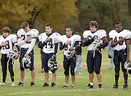 Cornwall-on-Hudson, NY - New York Military Academy plays the Harvey School in a football game on Oct. 17, 2009.