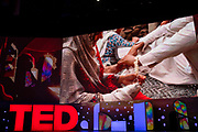A Girl on the River, directed by Sharmeen Obaid-Chinoy at TED2019: Bigger Than Us. April 15 - 19, 2019, Vancouver, BC, Canada. Photo: Bret Hartman / TED