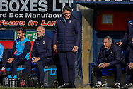 Luton Town interim manager Mick Harford during the EFL Sky Bet League 1 match between Luton Town and Coventry City at Kenilworth Road, Luton, England on 24 February 2019.