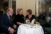 PRINCE MICHAEL OF KENT; PRINCESS MICHAEL OF KENT; LADY ANNABEL GOLDSMITH, Book launch of Lady Annabel Goldsmith's third book, No Invitation Required. Claridges's. London. 11 November 2009