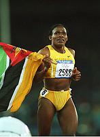 Maria MUTOLA,     Leichtathletik  800m Lauf   Mozambique<br />   Olympiasiegerin   Olympia 2000