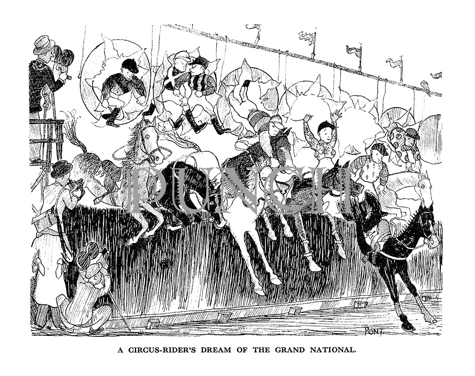A Circus-rider's Dream of the Grand National.