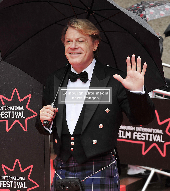 """Edinburgh International Film Festival, Sunday 26th June 2016<br /> <br /> Stars turn up on the closing night gala red carpet for the World Premiere of """"Whisky Galore!""""  at the Edinburgh International Film Festival 2016<br /> <br /> Eddie Izzard who plays Captain Wagget in the film.<br /> <br /> (c) Alex Todd   Edinburgh Elite media"""