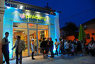 Grand opening of the first Pinkberry yogurt shop on Magazine Street in New Orleans, LA.