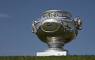 The Champion's Trophy on the 18th during thePro-Am of the 2015 Alstom Open de France, played at Le Golf National, Saint-Quentin-En-Yvelines, Paris, France. /01/07/2015/. Picture: Golffile | David Lloyd<br /> <br /> All photos usage must carry mandatory copyright credit (© Golffile | David Lloyd)