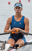 Poznan, POLAND, 21st June 2019, Friday, Morning Heats, USA W1X KOHLER Kara,  FISA World Rowing Cup II, Malta Lake Course, © Peter SPURRIER/Intersport Images,<br /> <br /> 11:59:50