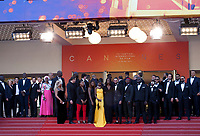 The cast of Les Misérables at the film's gala screening at the 72nd Cannes Film Festival Wednesday 15th May 2019, Cannes, France. Photo credit: Doreen Kennedy