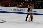 Kirsten Moore-Towers and Michael Marinaro from Canada competes in the Pairs Short Program during the ISU - Four Continents Figure Skating Championships, at the Honda Center in Anaheim California, February 5-10, 2019