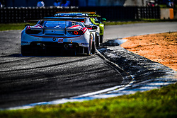 March 14, 2019 - Sebring, Etats Unis - 70 MR RACING (JPN) FERRARI 488 GTE GTE AM MOTOAKI ISHIKAWA (JPN) OLIVIER BERETTA (MCO) EDWARD CHEEVER  (Credit Image: © Panoramic via ZUMA Press)