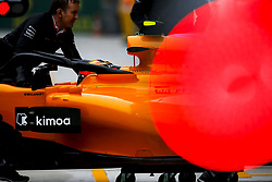 April 14, 2018 - Shanghai, China - Shanghai: Motorsports: Formula 1 2018 Heineken Chinese Grand Prix.Chinese Formula One Grand Prix Shanghai Circuit April 08, 2018 in Shanghai, China.#2 Stoffel Vandoorne (BEL, McLaren Honda), #2 Stoffel Vandoorne (BEL, McLaren Honda) (Credit Image: © Hoch Zwei via ZUMA Wire)