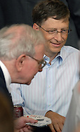 05/06/07  Omaha, NE Microsoft's Bill Gates  and Warren Buffett play bridge together  as part of  the Berkshire Hathaway annual meeting Sunday at Regency Court Sunday afternoon....(photo by Chris Machian/Prarie Pixel Group).
