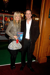 GABY ROSLIN and DAVID OSMAN at the gala night of Varekai by Cirque du Soleil at The Royal Albert Hall, London on 8th January 2008.<br />