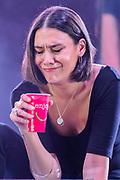 Henham Park, Suffolk, 20 July 2019. Nadine Shah plays the BBC Sounds Stage. The 2019 Latitude Festival.