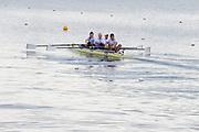 Caversham. Berkshire. UK<br /> left,  Cox. Oliver JAMES. Bow. Grace CLOUGH,  Pamela RELPH, Daniel BROWN and James FOX. 2016 GBRowing, Para Rowing Media Day, UK GBRowing Training base near Reading, Berkshire.