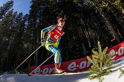 Brendan Green (CAN) competes during Men 12,5 km Pursuit at day 3 of IBU Biathlon World Cup 2015/16 Pokljuka, on December 19, 2015 in Rudno polje, Pokljuka, Slovenia. Photo by Urban Urbanc / Sportida