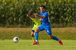 88# Zidan Tim of NK Nafta 1903 during the match of 1st. round of Cup Slovenia 2020/21 between NK Sencur an NK Nafta 1903, on 02.09.2020 in Sencur, Slovenia. Photo by Urban Meglič / Sportida