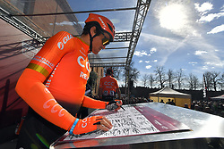 March 9, 2019 - Siena, Italia - Gian Mattia D'Alberto / lapresse.09-03-2019 Siena.Sport.Gara ciclistica Strade Bianche 2019 .nella foto: Van Avermaet Greg BEL..Gian Mattia D'Alberto  / lapresse.2019-03-09 Siena.Strade Bianche 2019 .in the photo: Van Avermaet Greg BEL. (Credit Image: © Gian Mattia D'Alberto/Lapresse via ZUMA Press)