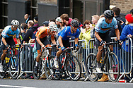 Men Road Race 230,4 km, Greg Van Avermaet (Belgium), Sonny Colbrelli (Italy), during the Cycling European Championships Glasgow 2018, in Glasgow City Centre and metropolitan areas, Great Britain, Day 11, on August 12, 2018 - Photo Luca Bettini / BettiniPhoto / ProSportsImages / DPPI - Belgium out, Spain out, Italy out, Netherlands out -