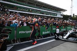 November 17, 2019, Sao Paulo, Brazil: xa9; Photo4 / LaPresse.17/11/2019 Sao Paulo, Brazil.Sport .Grand Prix Formula One Brazil 2019.In the pic: Max Verstappen (NED) Red Bull Racing RB15 and Helmut Marko (AUT), Red Bull Racing, Red Bull Advisor (Credit Image: © Photo4/Lapresse via ZUMA Press)