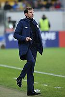 LVIV, UKRAINE - DECEMBER 07: Coach José Ángel Ziganda of Athletic Bilbao.   UEFA Europa League Group J match between Zorya Luhansk and Athletic Bilbao at Arena Lviv in Lviv, Ukraine. December 07, 2017