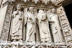 Notre Dame de Paris before the fire 17 April 2019