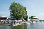 Henley Royal Regatta, Henley on Thames, Oxfordshire, 3-7 July 2013.  Saturday  15:56:28   06/07/2013  [Mandatory Credit/Intersport Images]<br /> <br /> Rowing, Henley Reach, Henley Royal Regatta.<br /> <br /> The Princess Elizabeth Challenge Cup<br /> Abingdon School v Scotch College, Melbourne, Australia