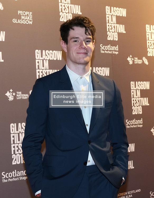 Glasgow Film Festival 2019<br /> <br /> The UK Premiere of The Vanishing<br /> <br /> Pictured: Connor Swindells <br /> <br /> (c) Aimee Todd | Edinburgh Elite media