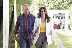 September 5, 2017 - Madrid, Spain - Bertín Osborne and Fabiola present new Danacol advertising campaign in Madrid September 5, 2017  (Credit Image: © Oscar Gonzalez/NurPhoto via ZUMA Press)