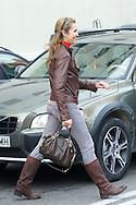 Princess Elena visits King Juan Carlos of Spain at San Jose Hospital on November 25, 2012 in Madrid Spain