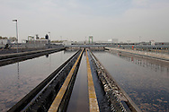 San Rocco, Milano sud : Impianto di depurazione delle acque reflue. San Rocco Waste Water Treatment plant